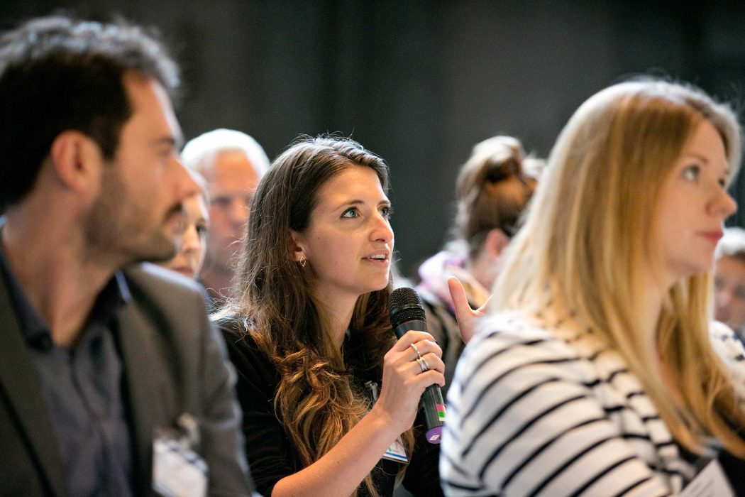 Amsterdam conference audience questions