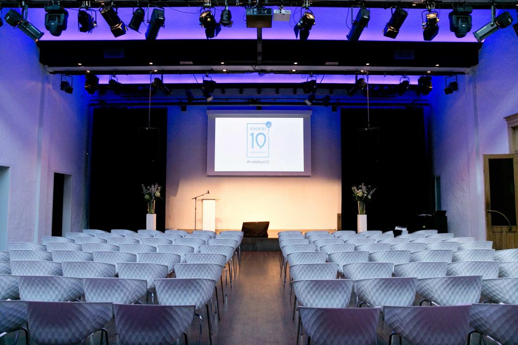 Amsterdam conference empty venue