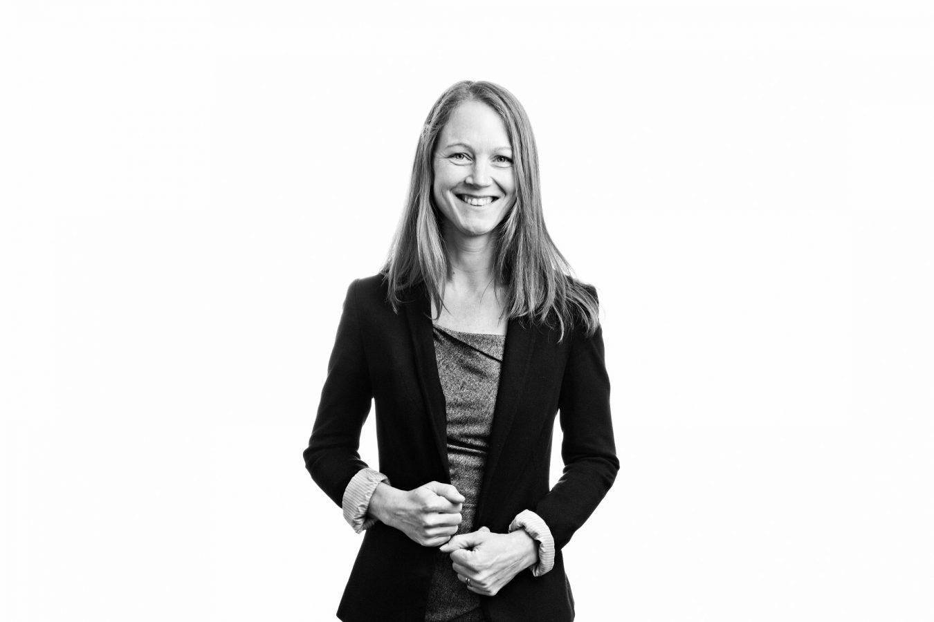 Taylor-Vinters-female-staff-portrait-studio-black-and-white-london