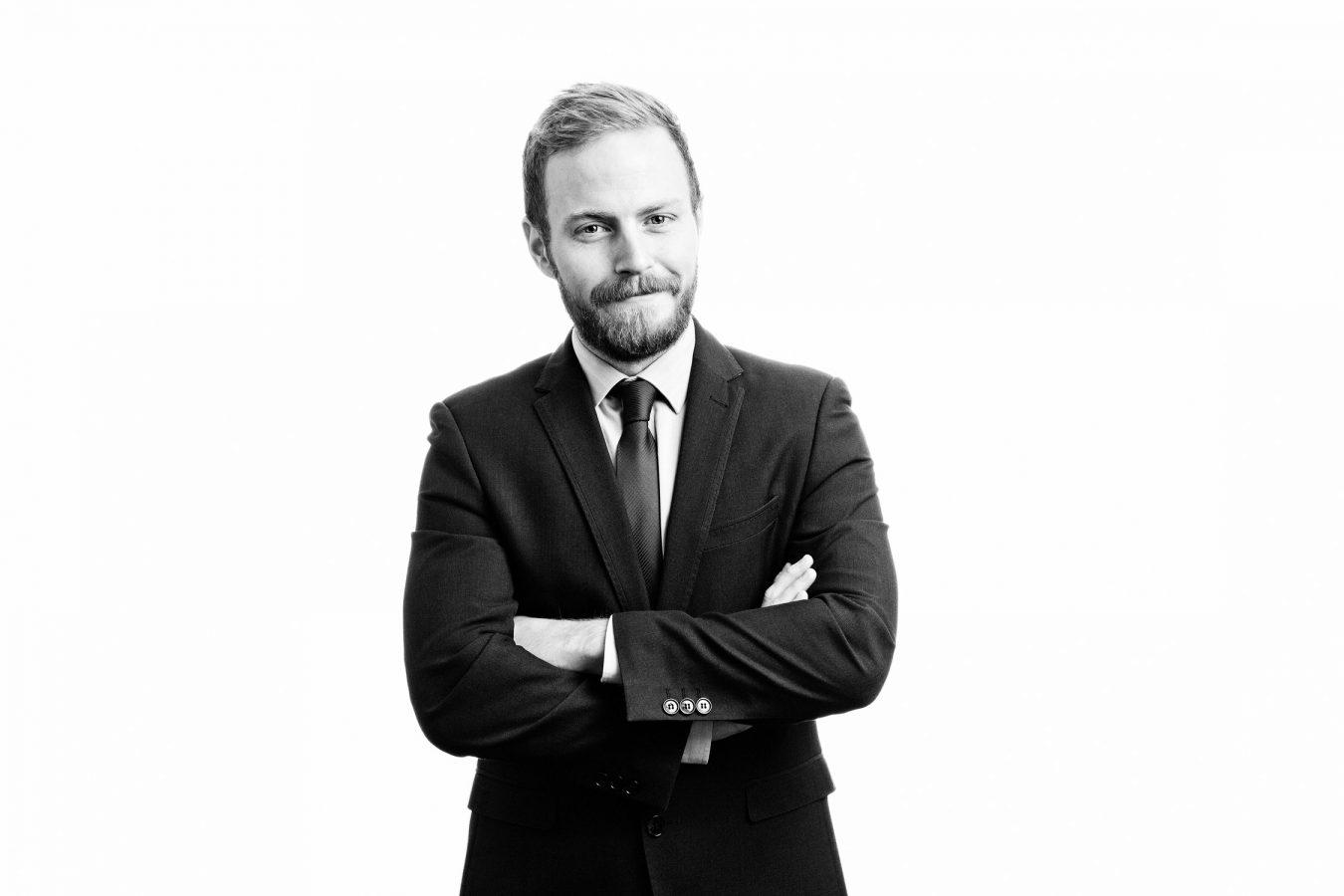 Taylor-Vinters-staff-male-portrait-studio-black-and-white-cambridge