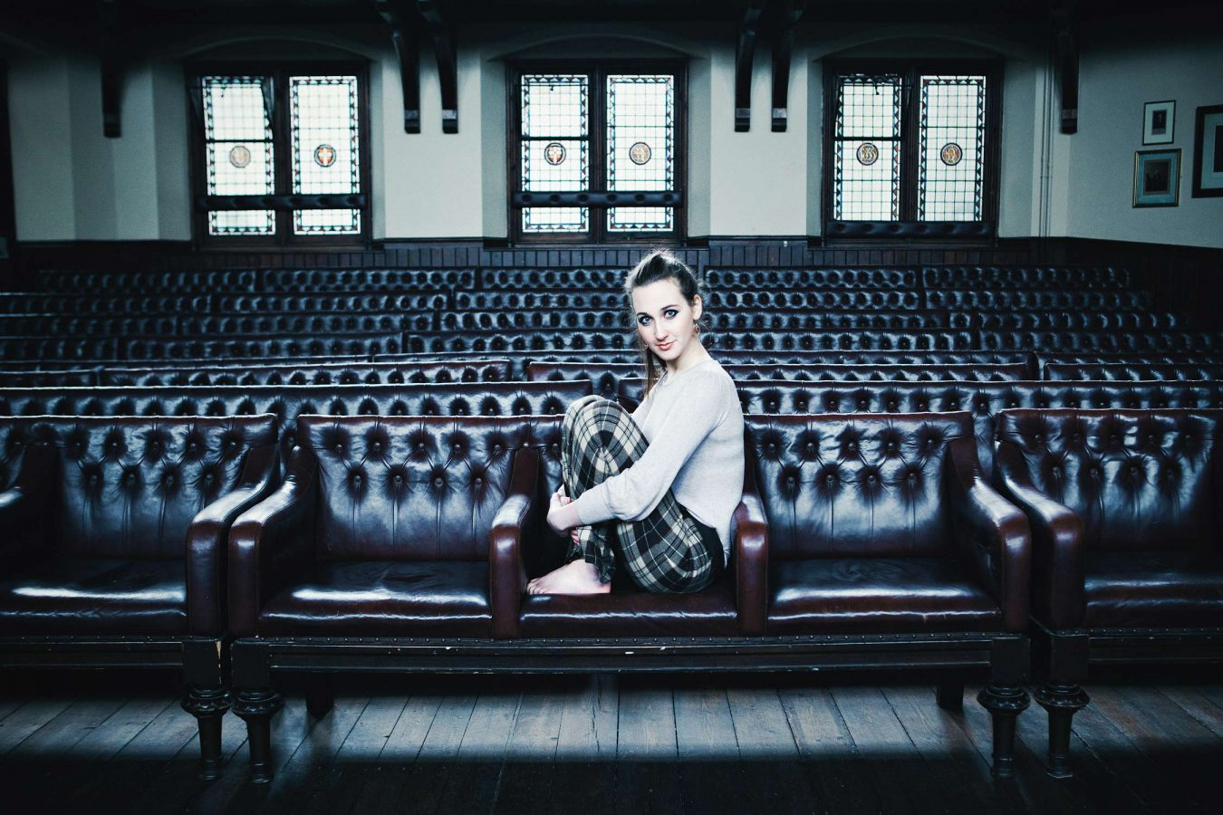 actress-location-portrait-photography-debating-chamber-cambridge