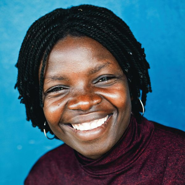 Colourful headshot of woman in rural Malawi shot by StillVision photography