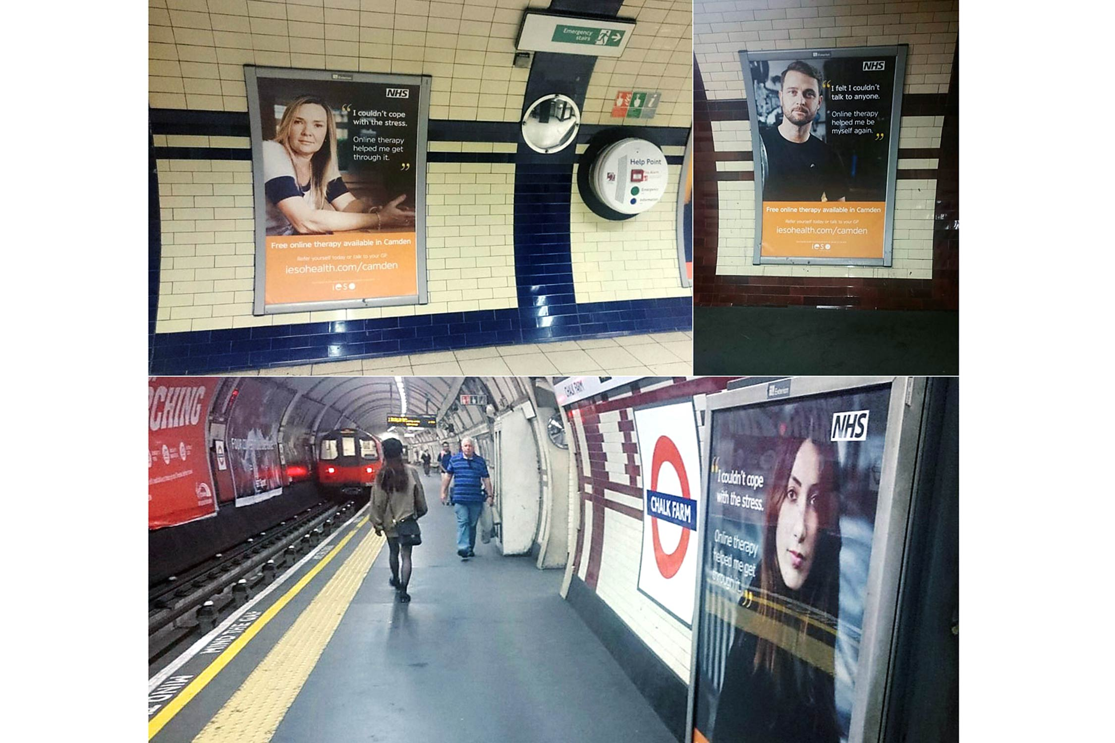 Ieso Advertising Photography London Underground Examples