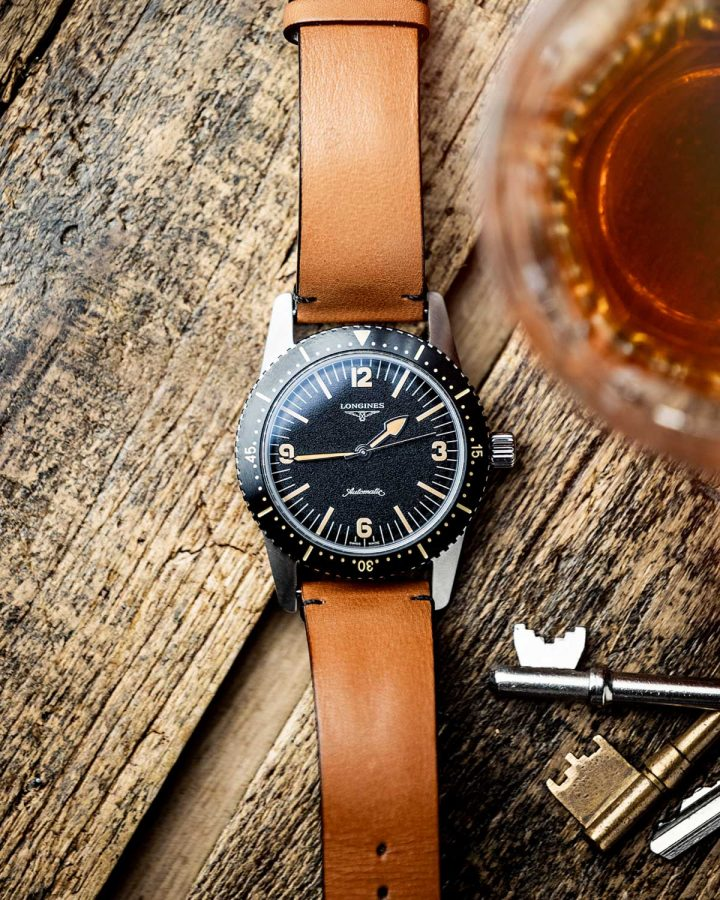longines-heritage-skindiver-watch-product-photography