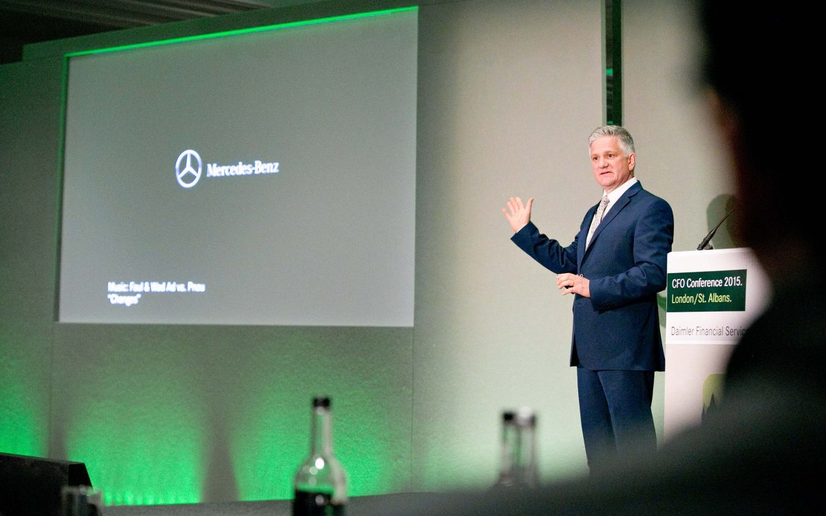 Mercedes Benz London conference photography by StillVision