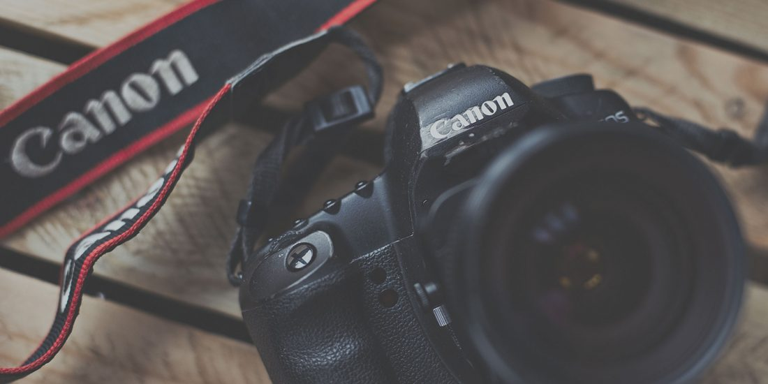 one of StillVision Photography Cambridge's Canon SLR cameras