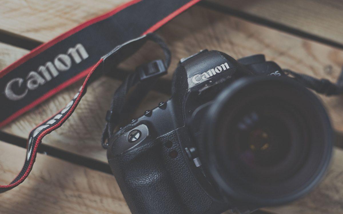 one of StillVision Photography Cambridge's Canon SLR cameras