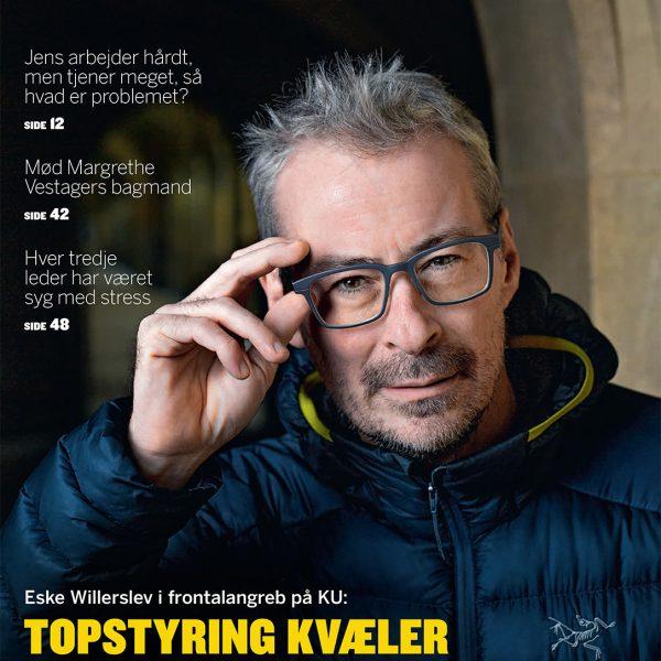 ESKE WILLERSLEV COVER SHOOT