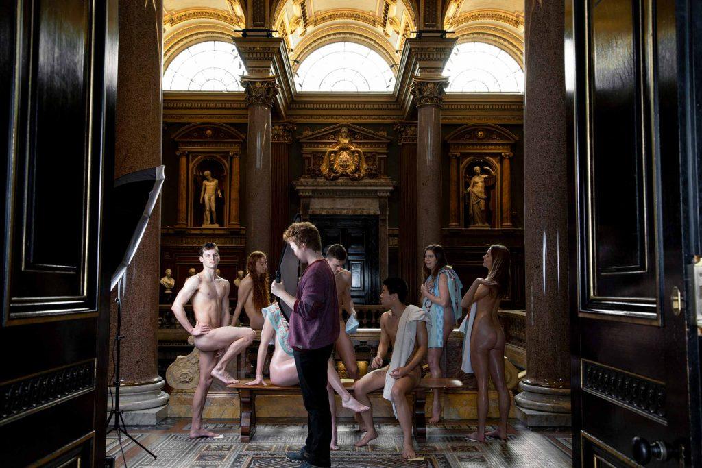 behind the scenes shooting the 2021 RAG naked calendar