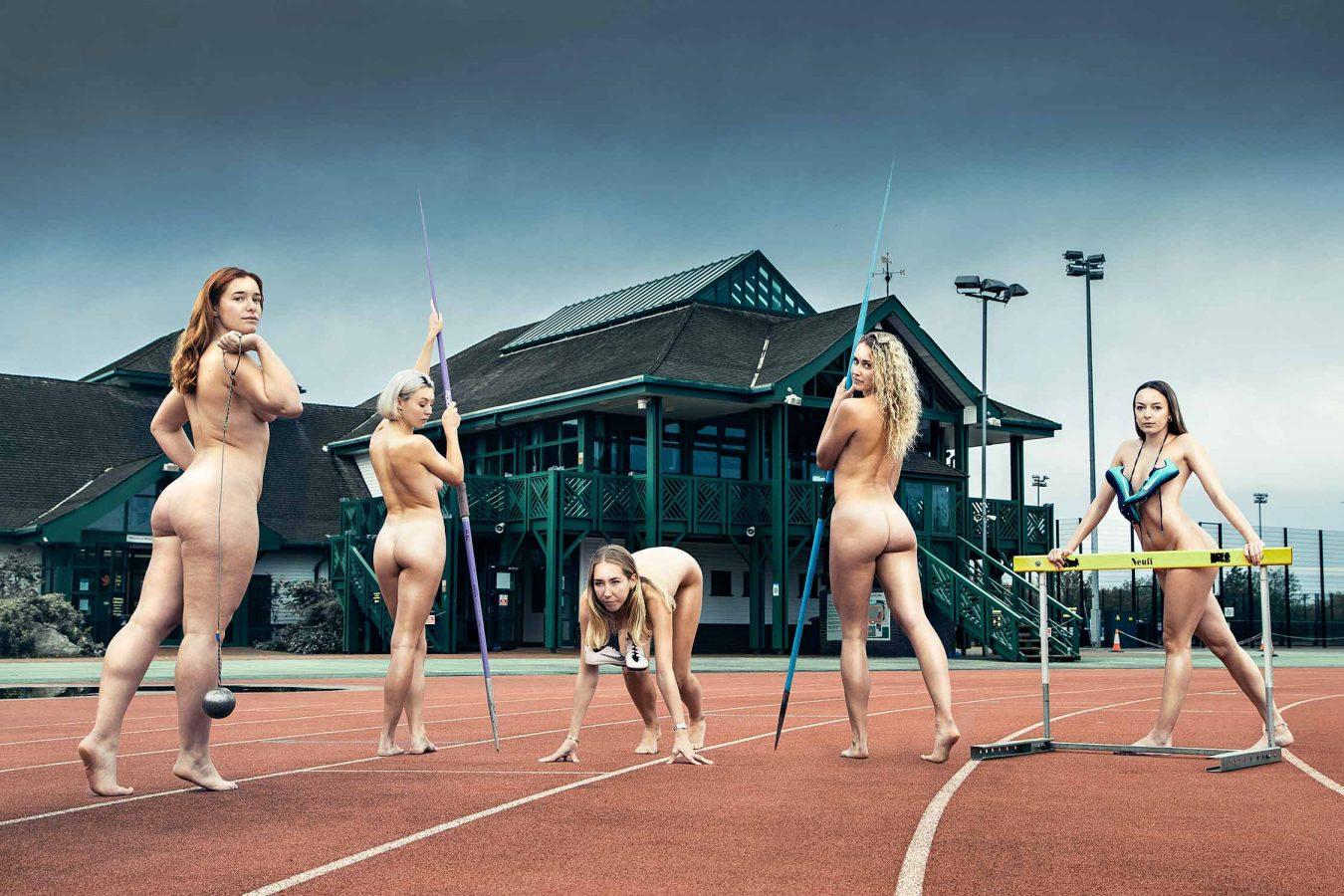 The University of Cambridge naked calendar 2021 athletics track