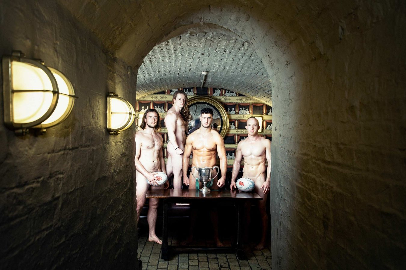 university of Cambridge naked calendar 2021 chop house